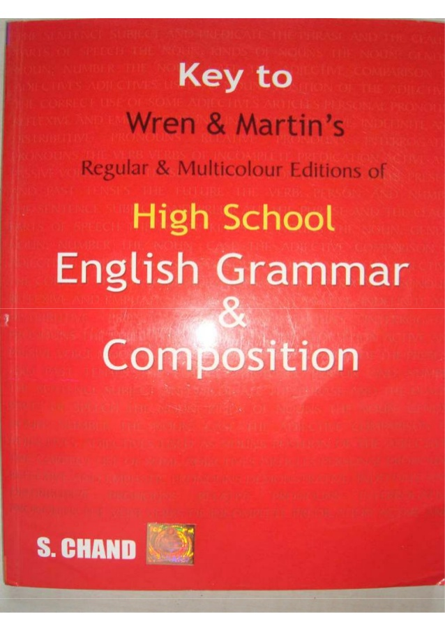 wren-and-martin-high-school-english-grammar